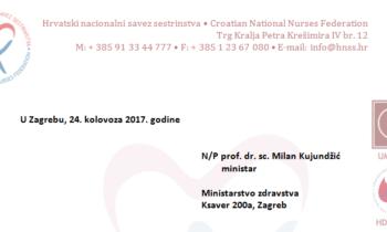Pismo ministru povodom događanja u OB Sisak