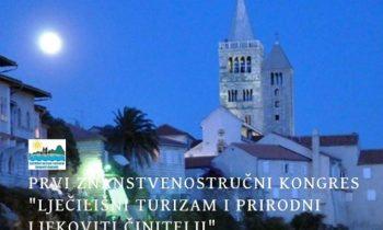 """Prvi znanstvenostručni kongres """"Lječilišni turizam i prirodni ljekoviti činitelji""""  30.08.-02.09.2018., Rab"""